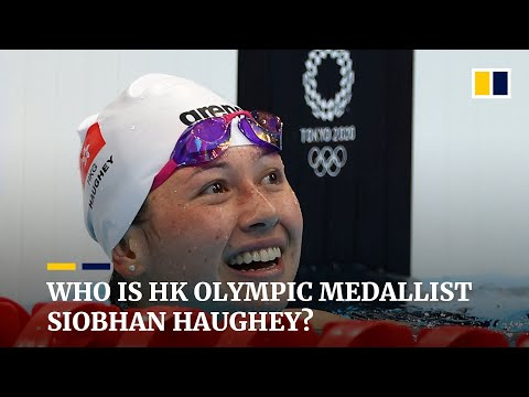 Who is Hong Kong's Olympic silver medallist swimmer Siobhan Haughey?