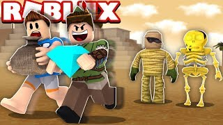 PYRAMID ROBBERY IN ROBLOX!! (Mad City)