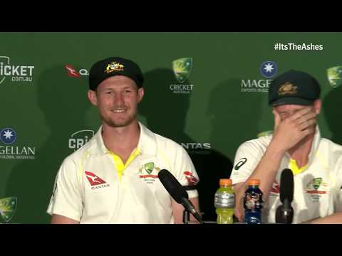 Bancroft gives his hilarious reaction to Jonny Bairstow 'headbutt' - The Ashes on BT Sport