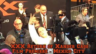 XXX film premiere 2017 , México City