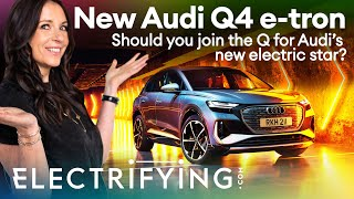 Audi Q4 e-tron 2021 review: Should you join the Q for Audi's new electric SUV? / Electrifying