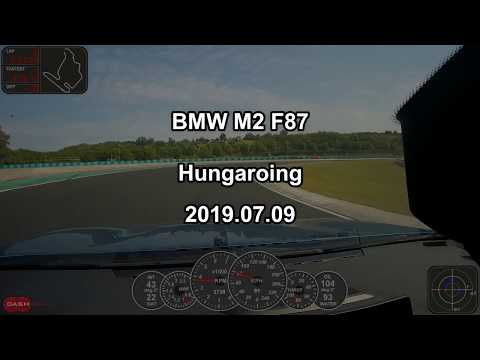 BMW M2 Hungaroring Trackday 2019.07.09