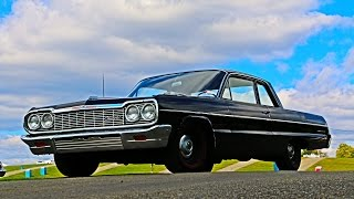 1964 Chevrolet Belair Coupe For Sale~409/425~4 Speed~Beautiful Straight Cruiser!