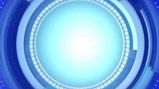 Blaue Kreise hintergrund-animation-loop-Motion-Hintergrund | DMX-HD-BG 122