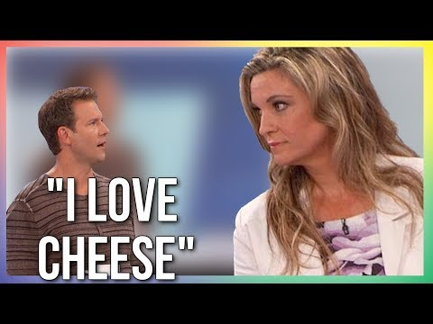 """""""I LOVE CHEESE"""" - TV Host Schooled By Vegan Doctor"""
