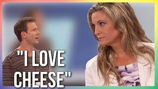 """I LOVE CHEESE"" - TV Host Schooled By Vegan Doctor"