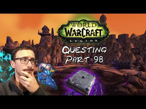 Let's play WoW Legion questing - UN JOURNAL TROUBLANT... fr