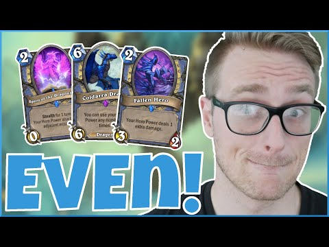 Hearthstone | Hero Powering My Way To VICTORY! | Wild Even Reno Mage | Saviors Of Uldum