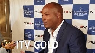 Brian Lara talks about the Indian cricket team with ITV Gold
