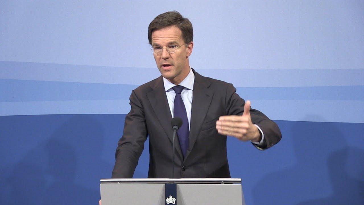 Integrale Persconferentie MP Rutte 22 April 2016