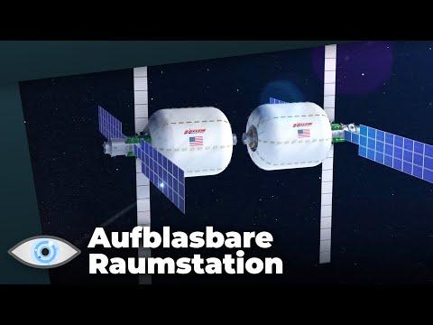 Irre: Aufblasbare Raumstation für zukünftige Mars-Missionen!