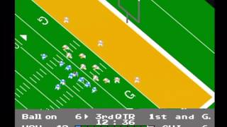 NES Play Action Football - Playoffs { Part 1 }
