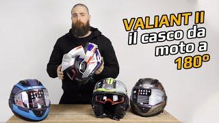 LS2 Valiant II è il casco modulare a 180°
