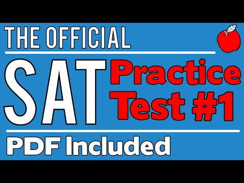 New SAT - Official Test #1 - Math Sect. 3 - Q1-10