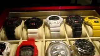 my casio g shock dw 6900 watch collection