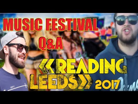 Reading And Leeds Festival 2017 QnA | The World Class Dudey Rhino Podcast |