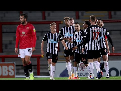 Morecambe 0 Newcastle United 7 | Carabao Cup Highlights