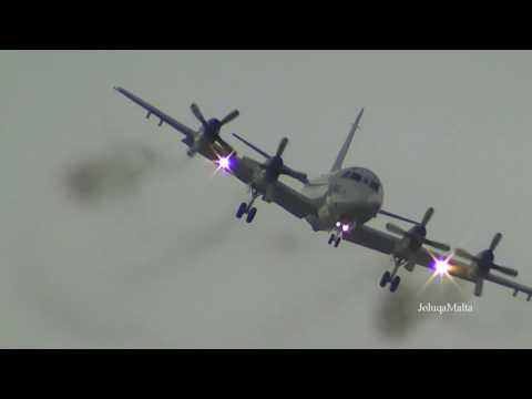 P 3 Orion and C 130 Herky low pass