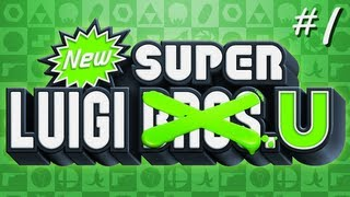 New Super Luigi U (Part 1) Dang Nabbit - TSR Let's Play