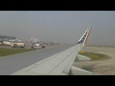 US Bangla Airlines Landing at Kolkata