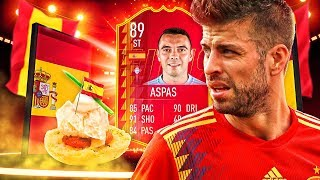 BETTER THAN SUAREZ?! 89 RATED LA LIGA SBC IAGO ASPAS! FIFA 19 Ultimate Team