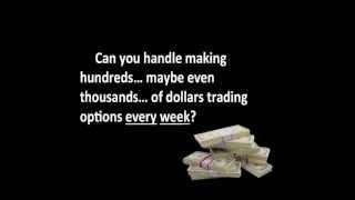 Weekly Options Trading Strategies Webinar