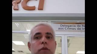 Pr. Claudio Duarte na delegacia