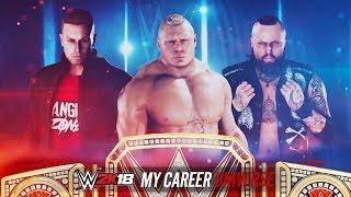 WWE 2K18 My Career Universe - Ep 7 - UNIVERSAL CHAMPIONSHIP TRIPLE THREAT!!