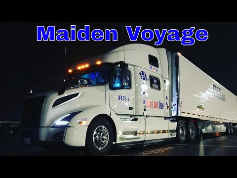 First Load With My 2018 Volvo VNL 860 Globetrotter XL