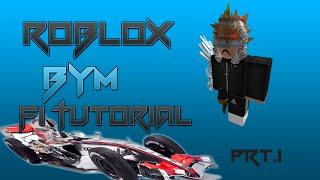 Roblox F1 race car [Bym Tutorial Prt.1]