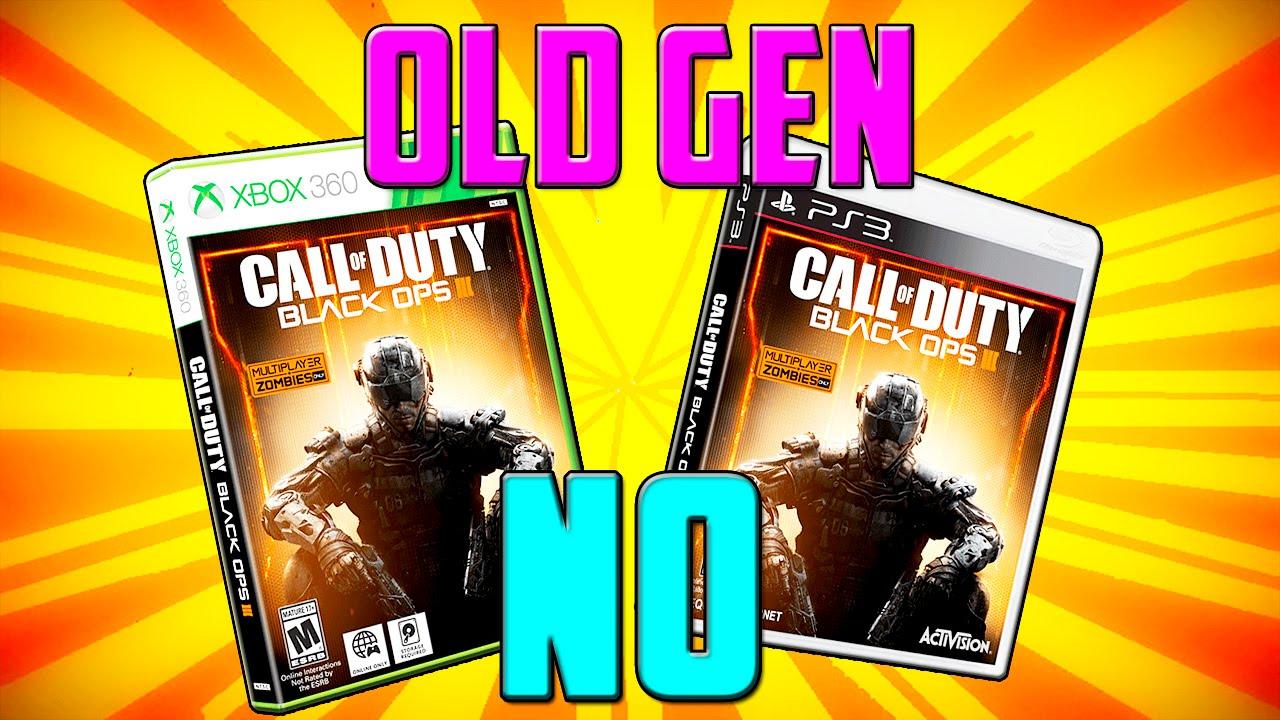 Razones para NO Comprar Black Ops 3 en OLD GEN (Xbox 360, PS3)