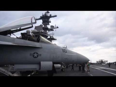 USS George H.W. Bush Flight Operations