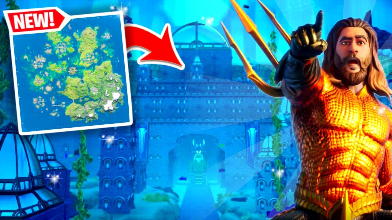 New Atlantis City In Fortnite Aquaman Youtube