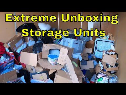 I Bought A Extreme Unboxing Abandoned Storage Unit! Storage Unit Finds