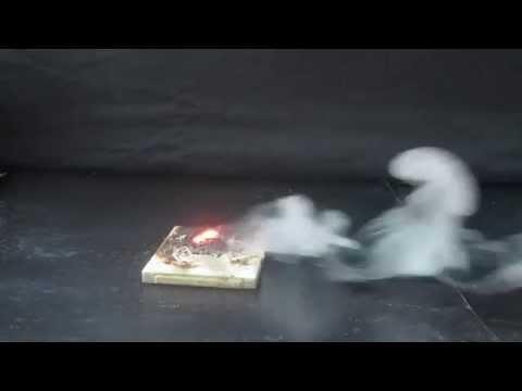 Самовозгорание глицерина - Огонь без спичек