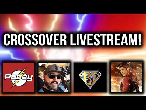4 Channel Crossover Live Stream With Pagey / TheDCTVshow / Airricksreloaded!