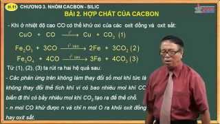 Bài giảng môn hóa 11 - Chương 2. Nhóm cacbon, silic - Bài 2. Hợp chất của cacbon