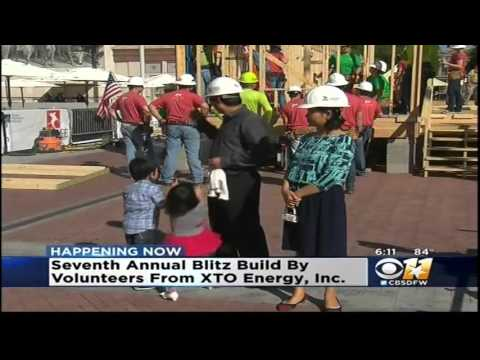 2016 XTO Build in Sundance Square - KTVT Channel 11 News