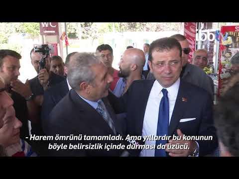 Başkan İmamoğlu Harem Otogarı'nda inceleme yaptı
