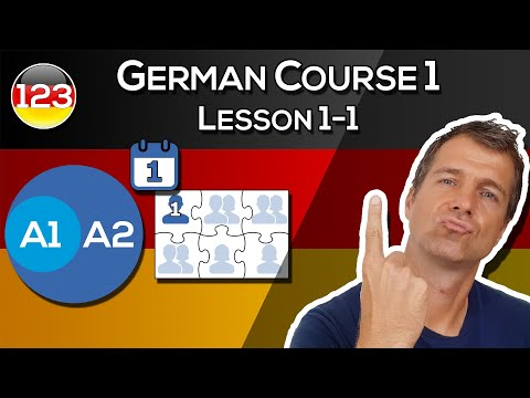 German Course 1 | Lesson 1 | Part 1 | The Easy Way to Learn