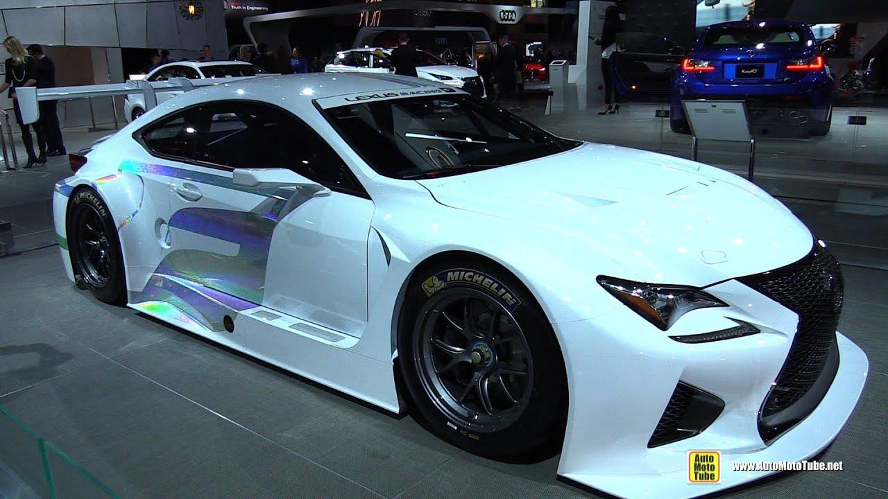 Lexus RC-F GT3 Racing Concept - Exterior Walkaround - 2015 New York ...