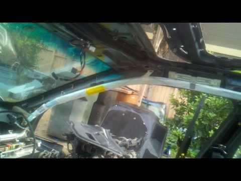 Side curtain airbag deployed bmw e39 m5 540i 525i 530i
