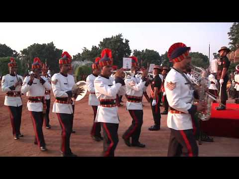 Change of Guard Ceremony at Rashtrapati Bhavan