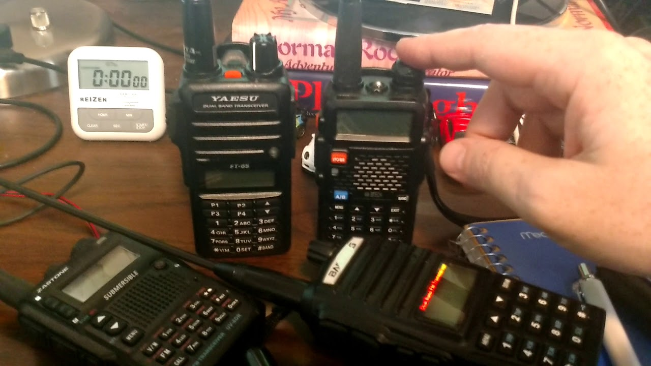 Yaesu FT-65 same as Baofeng UV-5X3? Comparison and thoughts