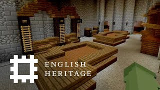 Kenilworth Castle in Minecraft | Part 2: Interior