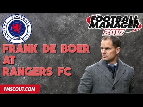 Frank de Boer at Rangers FC -  Football Manager 2017