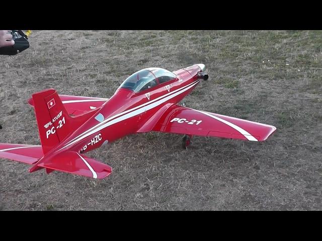 RC Pilatus PC-21 Maiden-Flight
