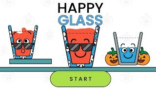 Happy Glass All Levels 3 Stars ( Level 1- 10 ) + Daily Challenge Gameplay Walkthrough Android/iOS