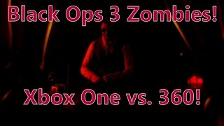 Black Ops 3 Zombies Xbox One vs 360! COD Shadows of Evil!