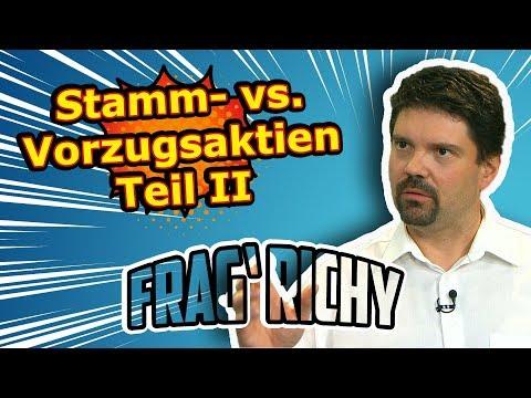 Frag' Richy: Vorzugs- vs. Stammaktien Teil II | Börse Stuttgart | Frag Richy